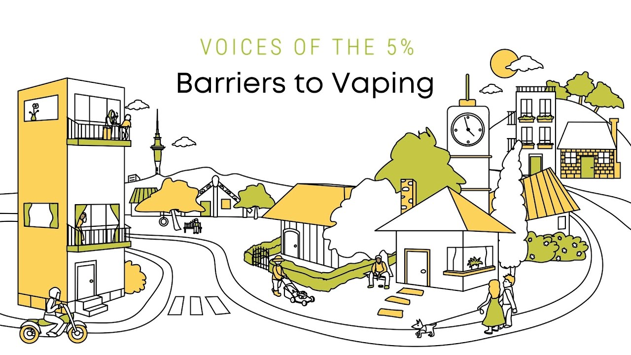 Voices of the 5% - Barriers to Vaping